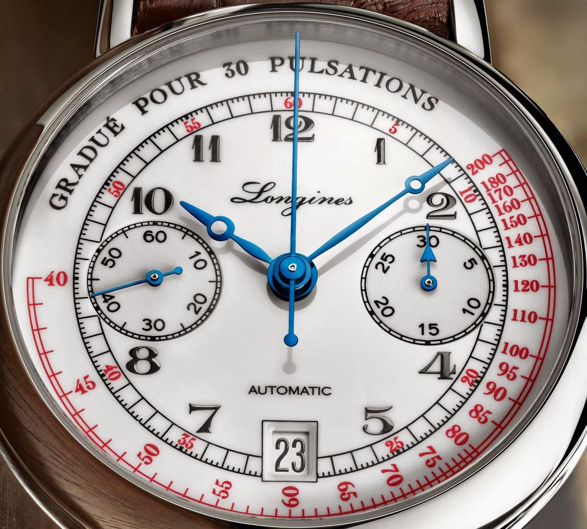 Longines - Pulsometer Chronograph