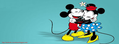 Couverture facebook mickey and minnie mouse