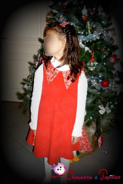 robe sereine vu de face her little world avec liberty mitsi valeria rouge