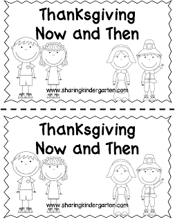 http://www.teacherspayteachers.com/Product/Then-and-Now-Thanksgiving-Reader-968622