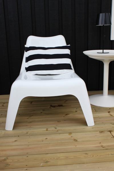 Blanco y negro para el exterior - Sillas de exterior ikea ...