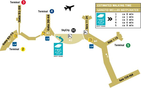 arlanda avgångar terminal 5