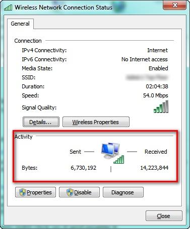 Connection status Windows: Intelligent Computing