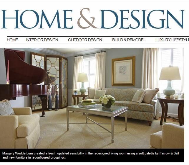 Home U0026 Design Magazine Article And Margery Wedderburn Interiors, LLC