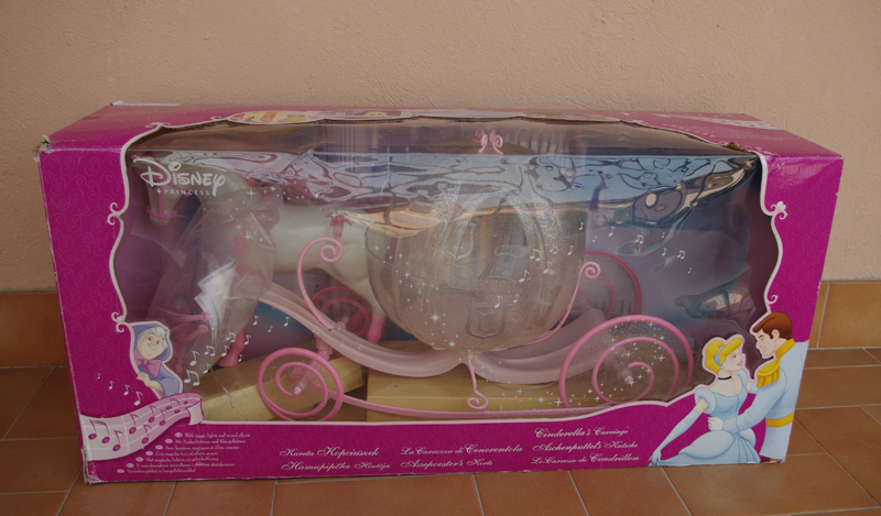 Mini princesses disney cendrillon de mattel - Cendrillon et son carrosse ...