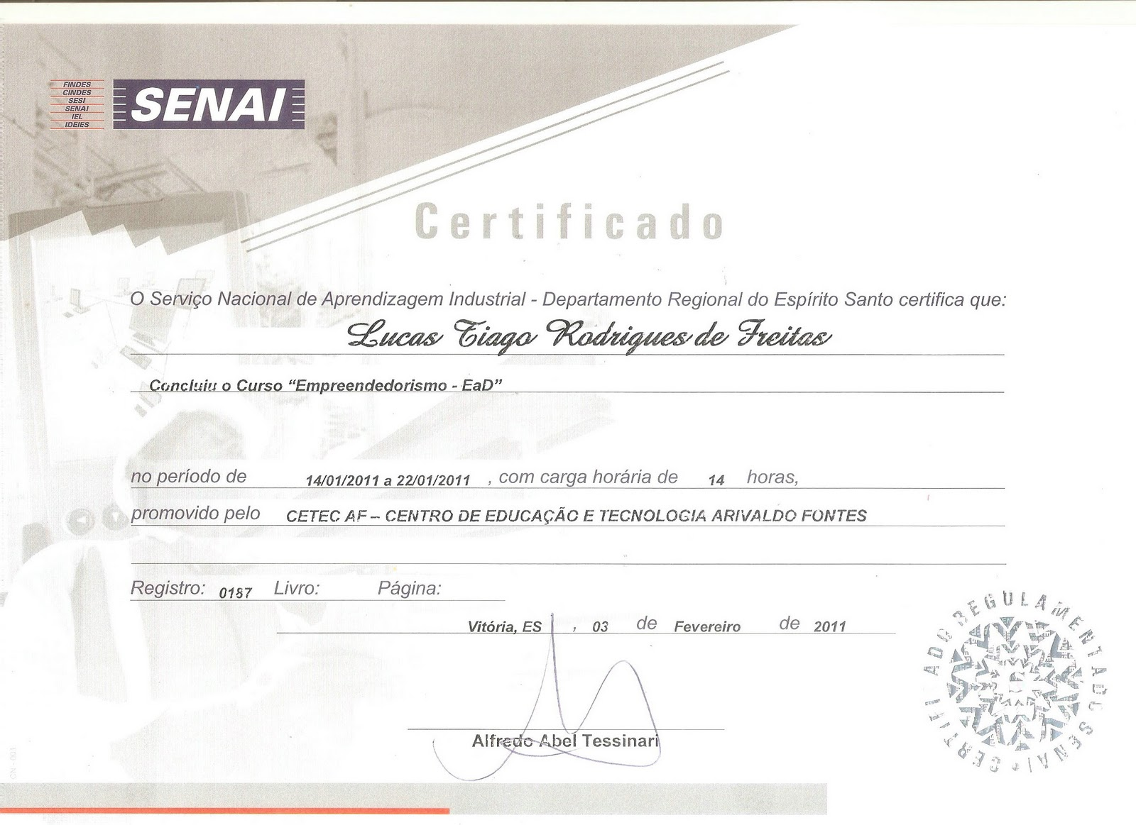 #8D533E Curso de Empreendedorismo EaD SENAI Lucas T R Freitas 1600x1163 píxeis em Curso Design Ead