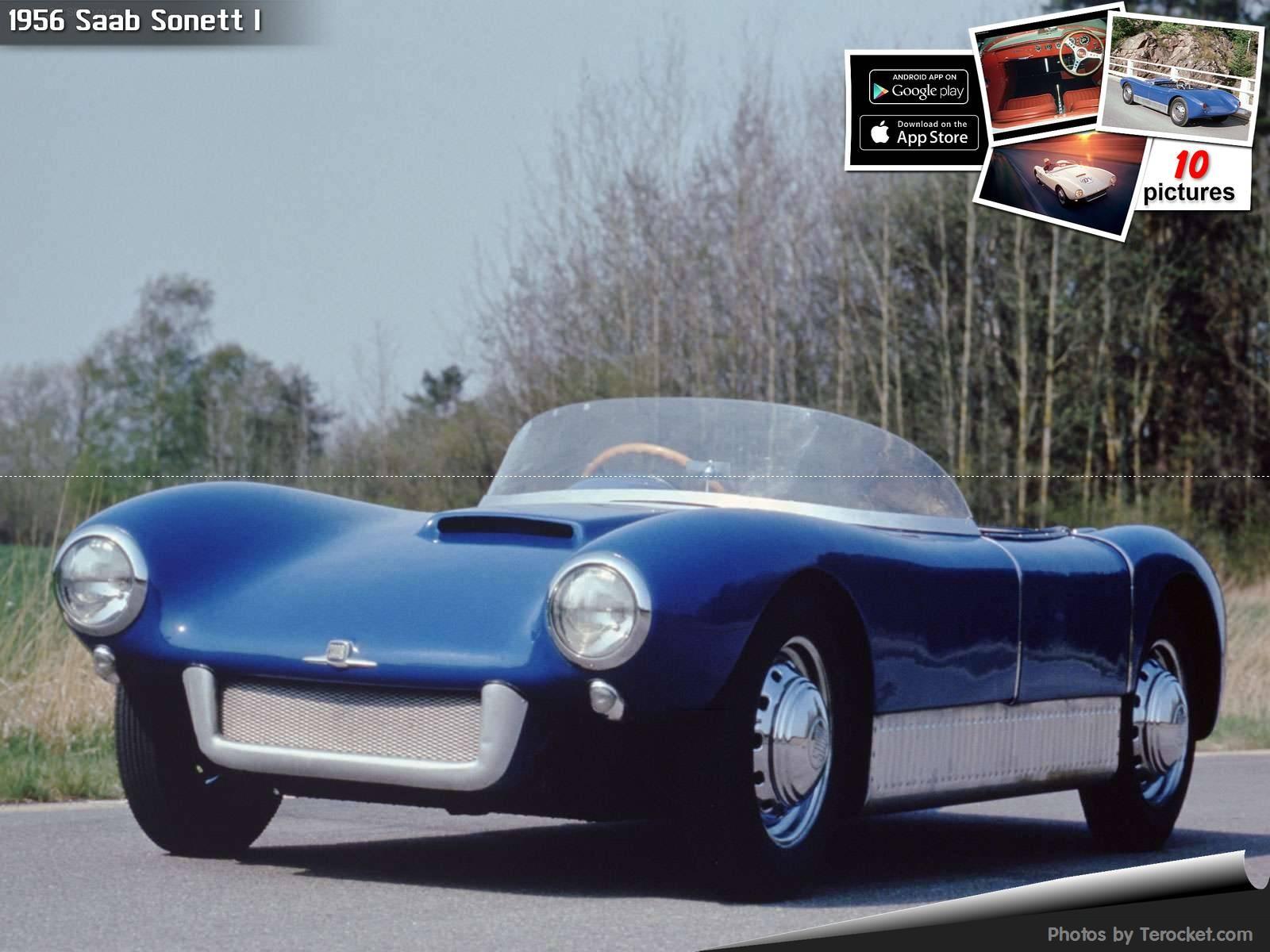 Hình ảnh xe ô tô Saab Sonett I 1956 & nội ngoại thất