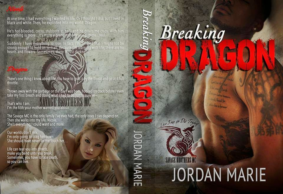 Cover RE-REVEAL  Breaking Dragon by Jordan Marie