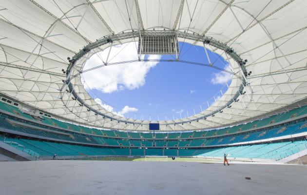 Arena Fonte será a mais bonita da Copa de 2014