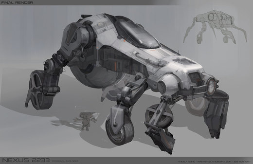 Another Mech por FlyingMilkPig