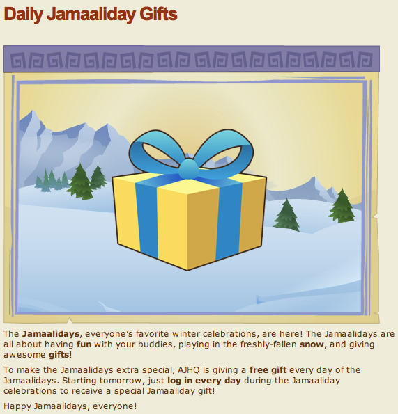 Animal Jam Christmas Gifts There are also cool Animal Jam