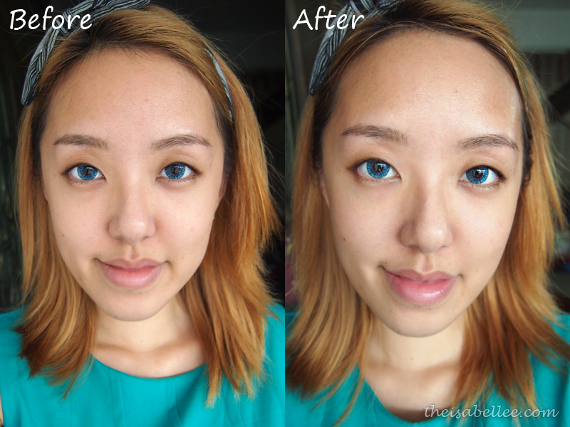 Results from GlamGlow Youthmud and Thirstymud