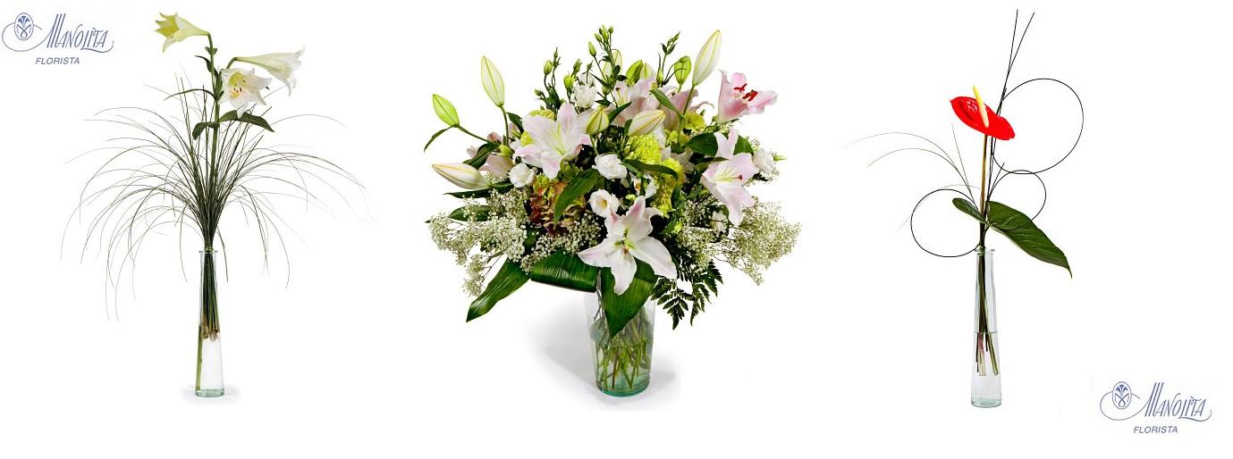 Flores Manolita Adornos de Flor