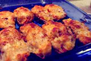 resep kentang panggang mozzarella