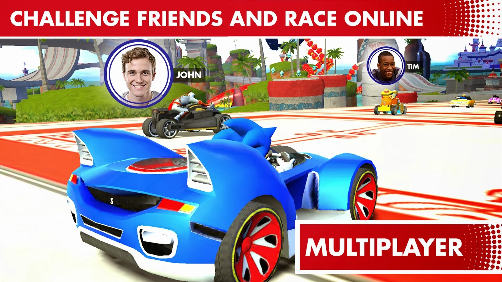 Sonic Racing Transformed v531960 APK + DATA