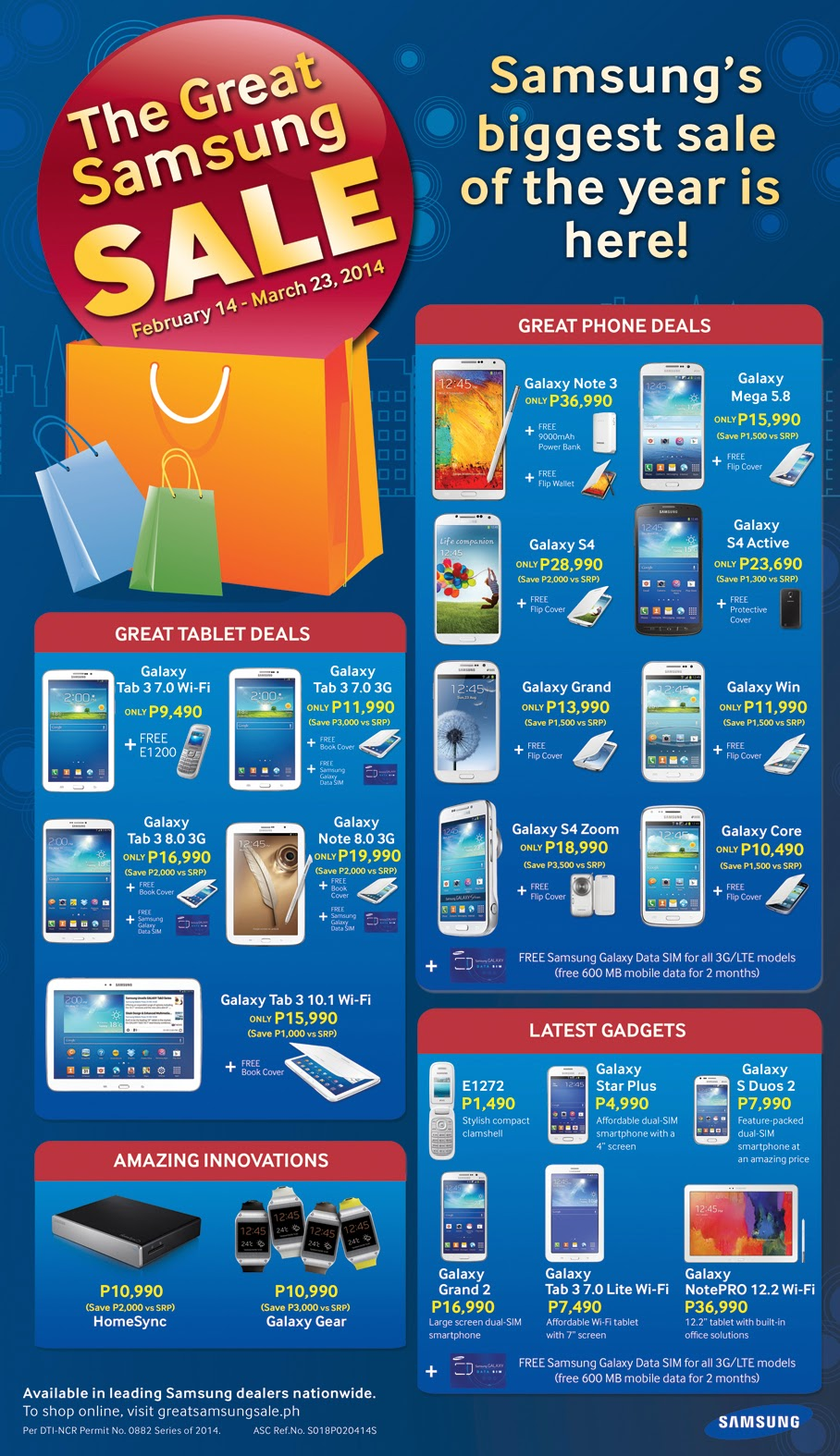 The Great Samsung Sale of February 2014