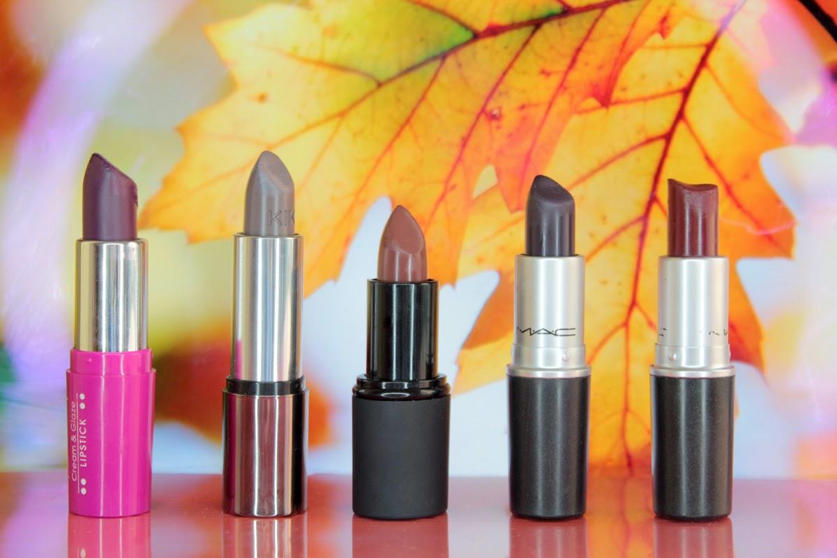 5 labiales otoño invierno