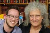 Me and Brian May. 10/21/13