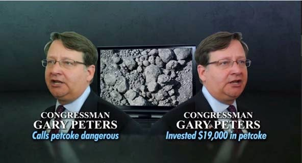 Gary Peters Pet Coke