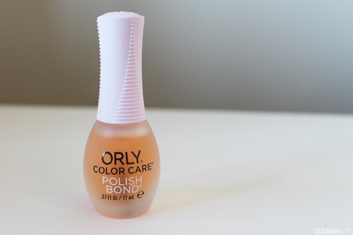 MOST LOVED // May '14 - ORLY Color Care Polish Bond - cassandramyee