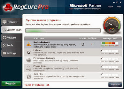Download ParetoLogic RegCure Pro 3.1.7.0 Including Patch