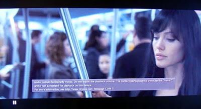 cinavia audio mute message on ps3 movie