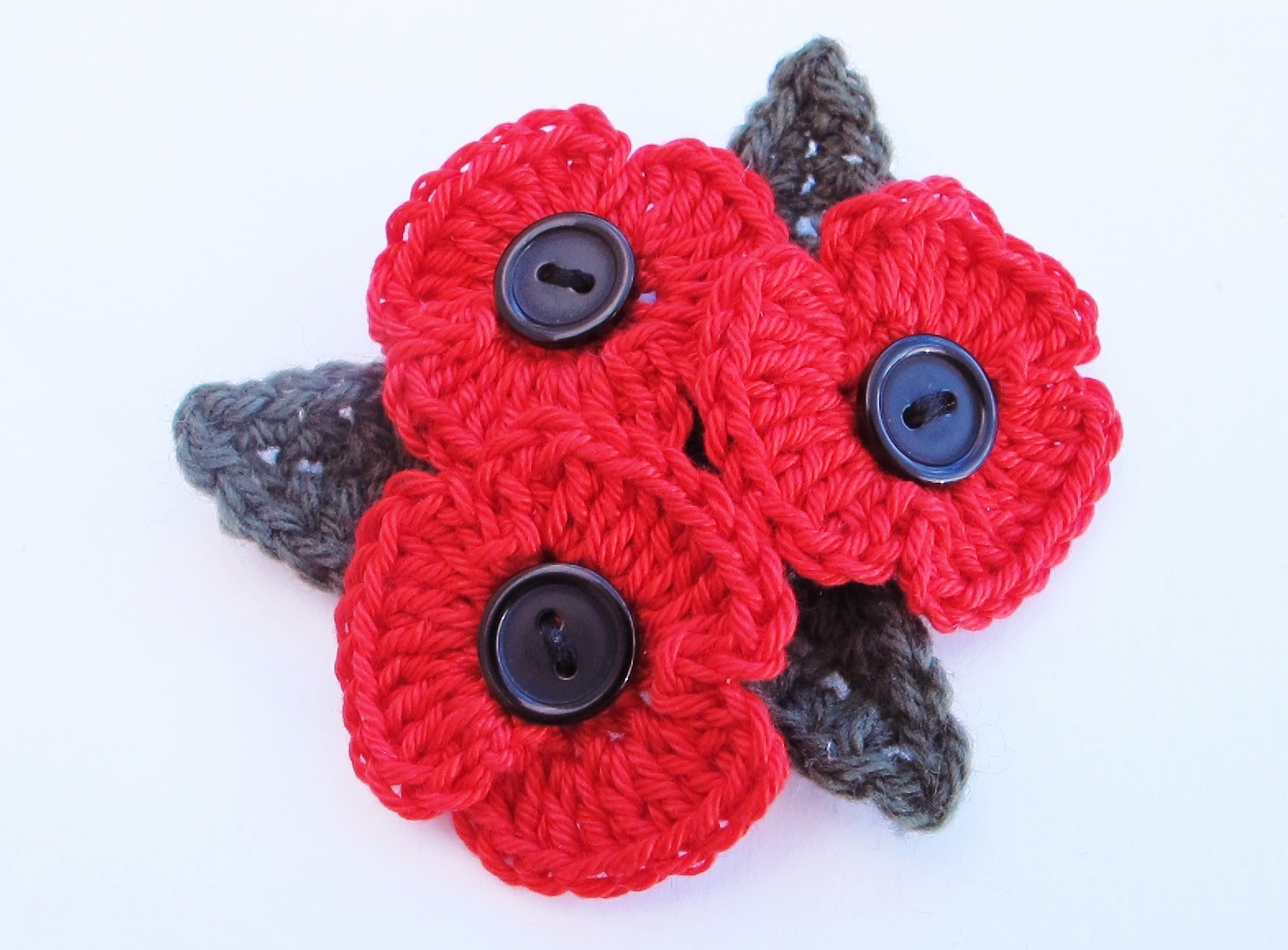 Addicted to making how to crochet a poppy crochet poppy bankloansurffo Image collections