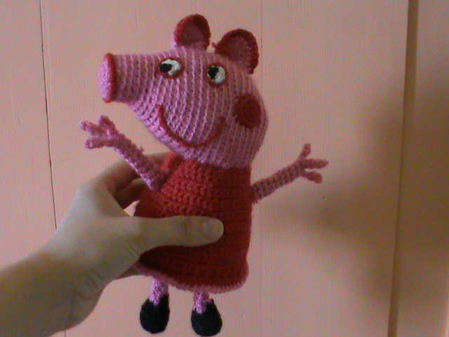 oanacrochet: bambolina amigurumi peppa pig