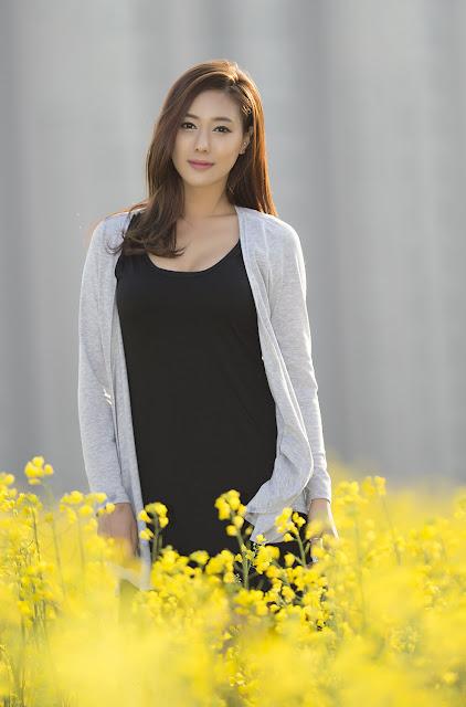 4 Another Kim Ha Yul Outdoor- very cute asian girl - girlcute4u.blogspot.com
