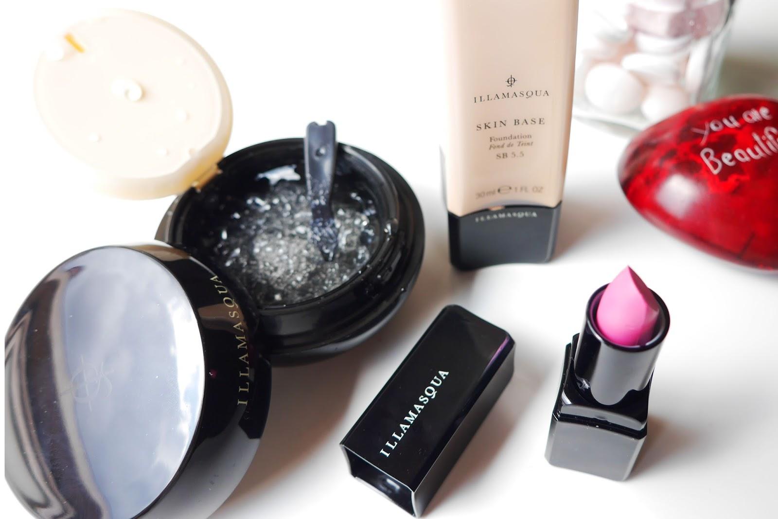 Illamasqua Skinbase, Kitsch Lipstick and HydraVeil Primer