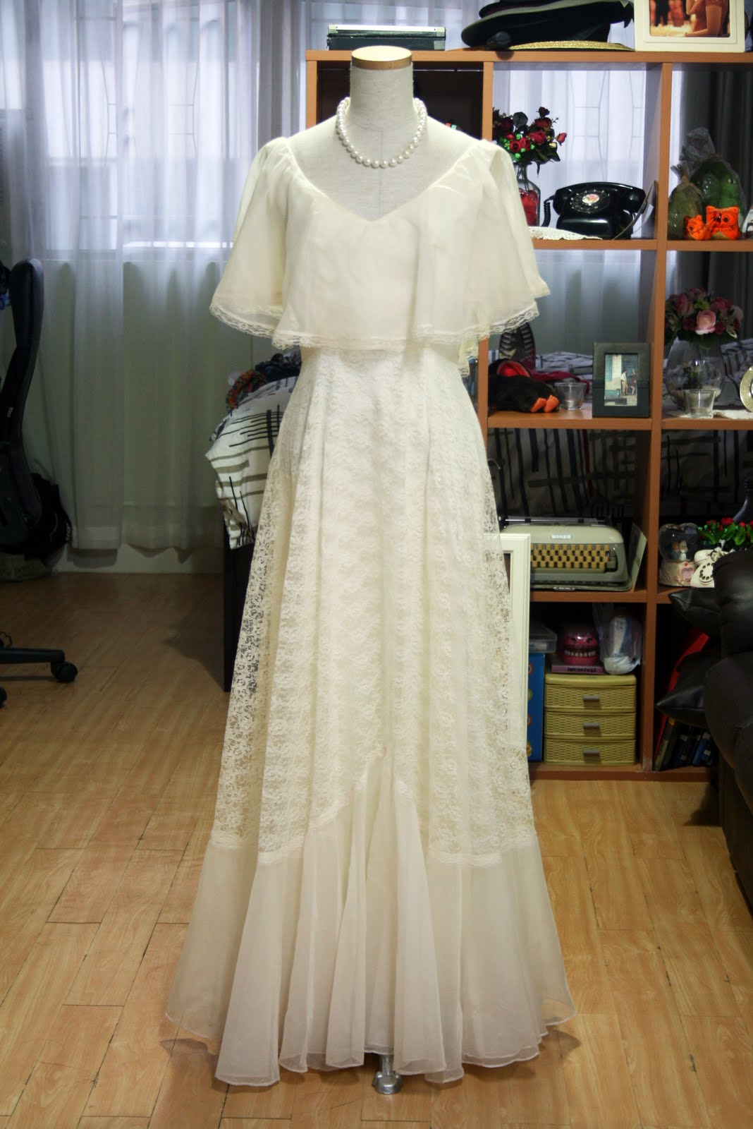 Stunning 60s 70s Vintage Wedding Dresses And Hats