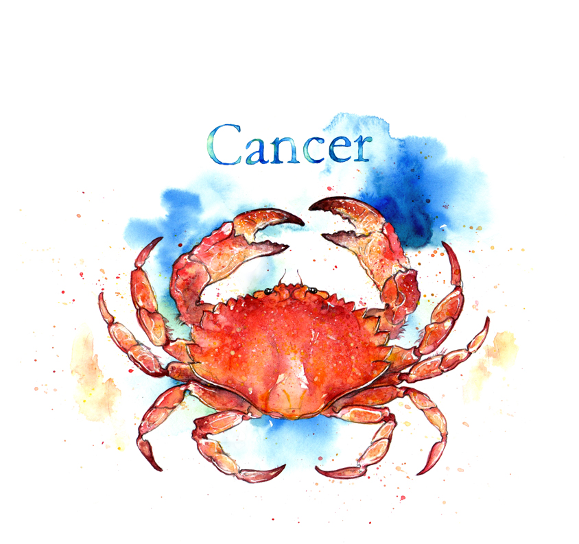Cancer, The Crab - Nadine Jane Astrology
