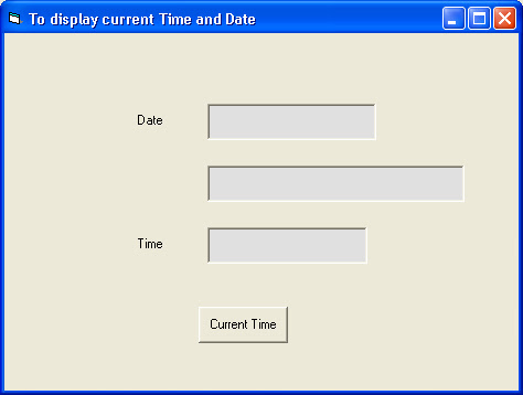 WPF Display Current Date And Time Binding The Date Time Now To Label