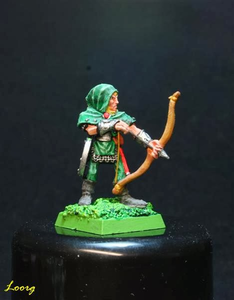 RRD4 - Skarloc's Wood Elf Archers  pintado