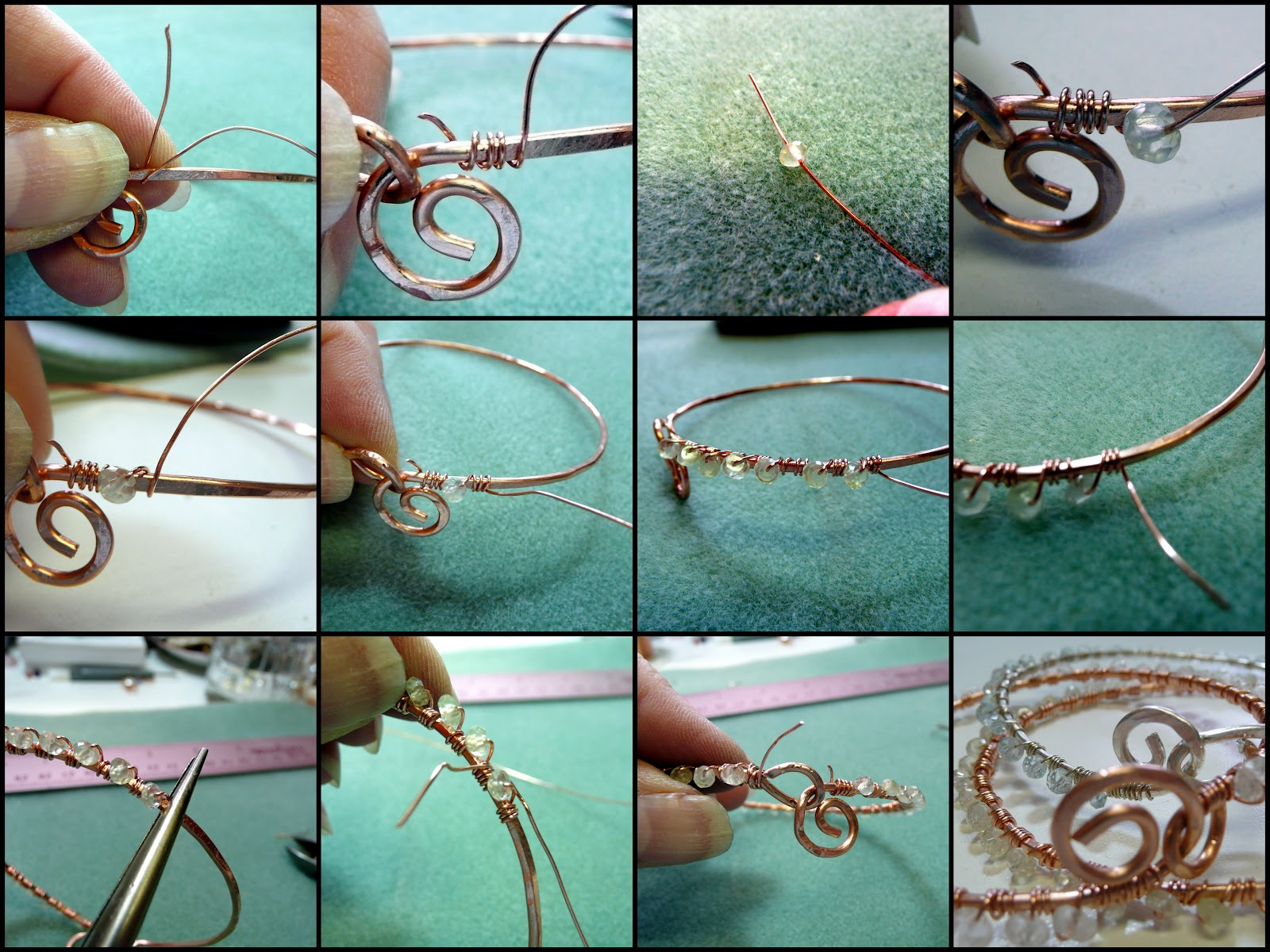 Dana\'s Jewelry Design: Delightful Bangles, a tutorial