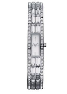 DKNY gem encrusted watch