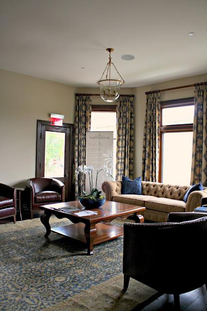 Barrington's White House Fireplace Room