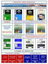 PUBLICIDAD DE LIBROS Y CUADERNOS DE COMUNICACIONES