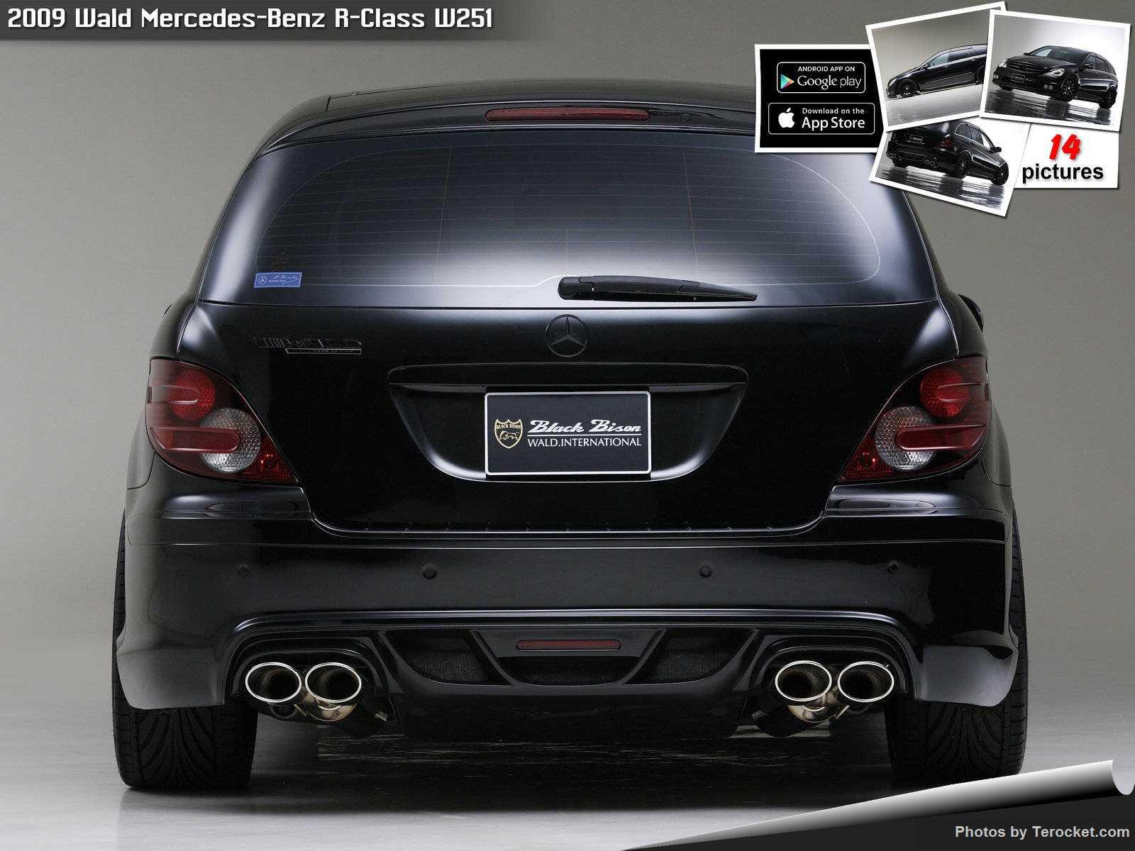 Hình ảnh xe độ Wald Mercedes-Benz R-Class W251 2009 & nội ngoại thất