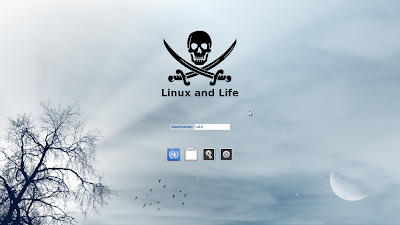 Change login screen theme in Linux Mint 13