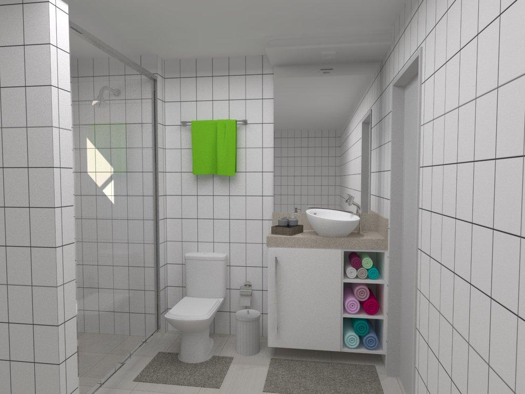 Cristine Berger Design de Interiores: Banheiro de um apartamento #618931 1024 768