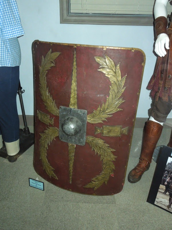 The Eagle Roman centurion shield prop