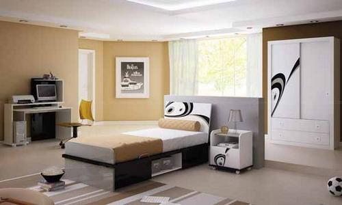 Inspirational Brown Bedroom Decor for Boys room Ideas
