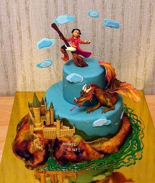 Harry Potter Birthday Cake Caroline