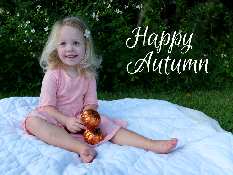 first day of autumn and fall photo shoot