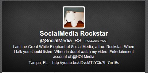 the Great White Elephant of Social Media