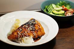 Teryakilohi riisillä