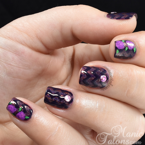 Purple on Purple with KBShimmer Fall 2015 Polishes