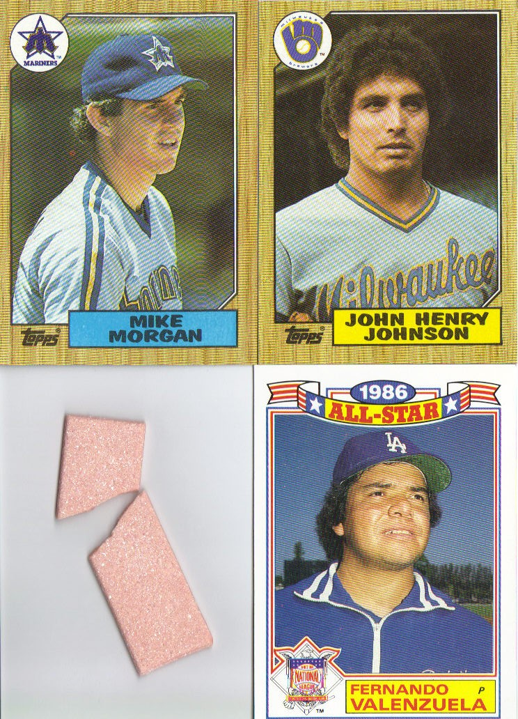 A Pack To Be Named Later 1987 Topps Baseball Cello Pack