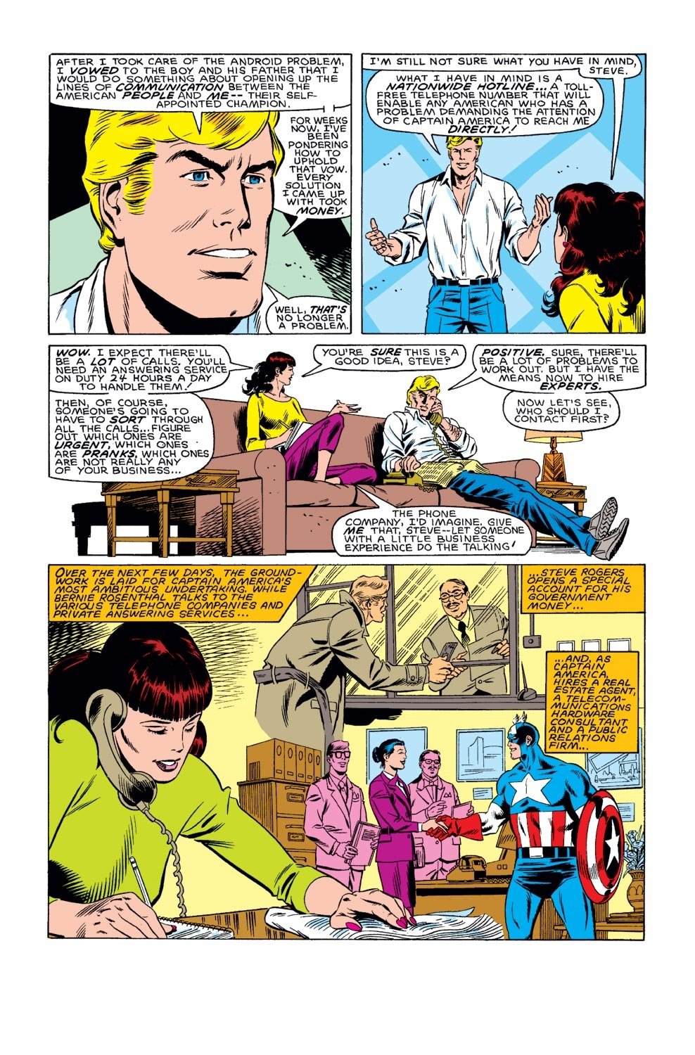 Captain America (1968) Issue #312 #240 - English 7